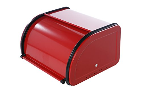 Juvale Bread Box For Kitchen Counter Stainless Steel Bread Bin