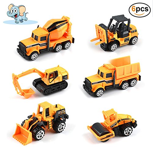 play vehicles winkon mini cars toys set die cast construction