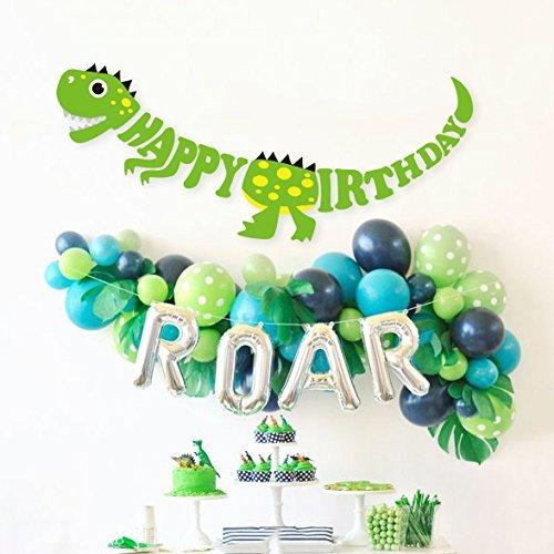 Dinosaur Birthday Party Balloon Decoration Supply Set