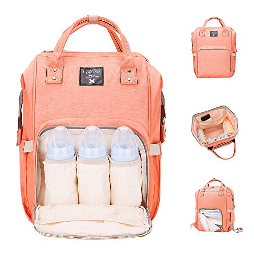 222aecedf22a Diaper Bag Multi-Function Waterproof Travel Backpack Nappy Bags for ...