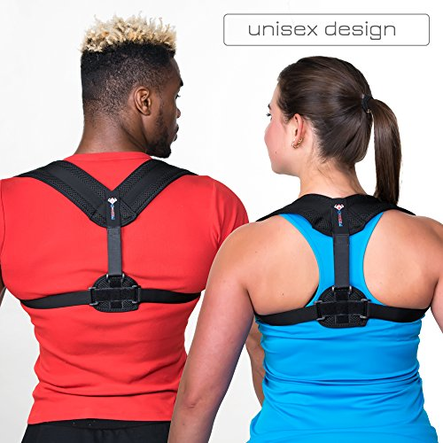 962814f70a42 Back Brace Posture Corrector for Women & Men – Adjustable Posture ...