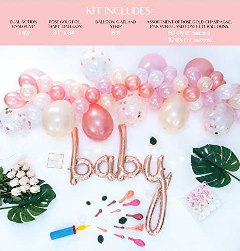 Baby Shower Decorations For Girl Baby Girl Party Supplies
