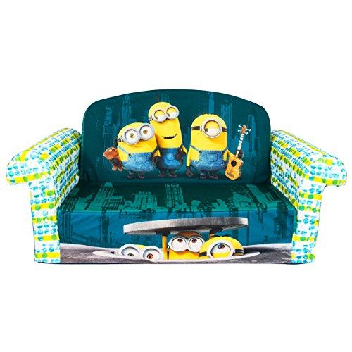Marshmallow Furniture Childrens 2 In 1 Flip Open Foam Sofa