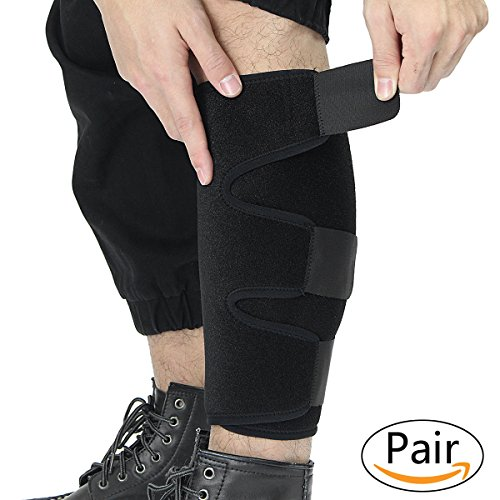 224b4030794ad3 Slimerence Medical Sports Calf Support Brace, Adjustable Shin Splint  Compression Sleeve Increases Circulation Recovery, Reduces Swelling,  Varicose Veins, ...