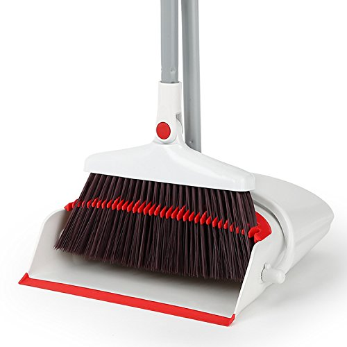 Dustpan Set Dust pan and Broom Lobby Broom Combo Upright