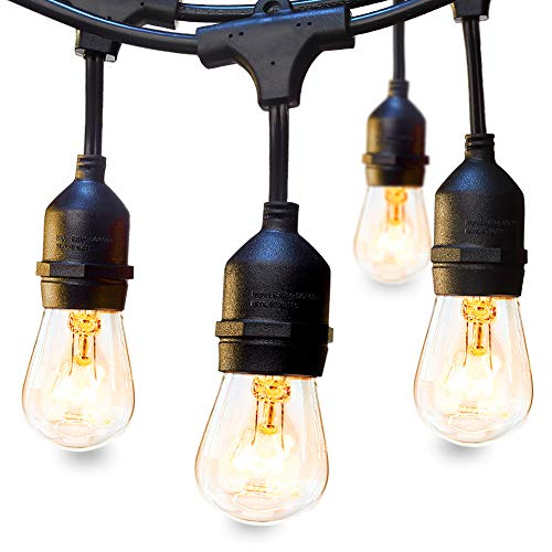 Addlon 48 FT Outdoor String Lights Commercial Great