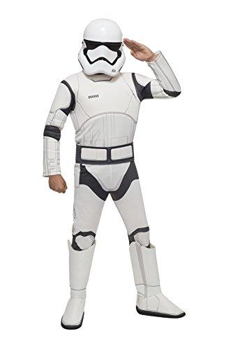 size 6 /& 9yrs Boys Star Wars T-shirt black with Clone //Storm Trooper print