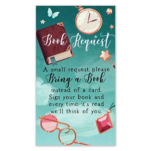 Book Request Cards For Baby Shower Bring A Book Instead Of A Card