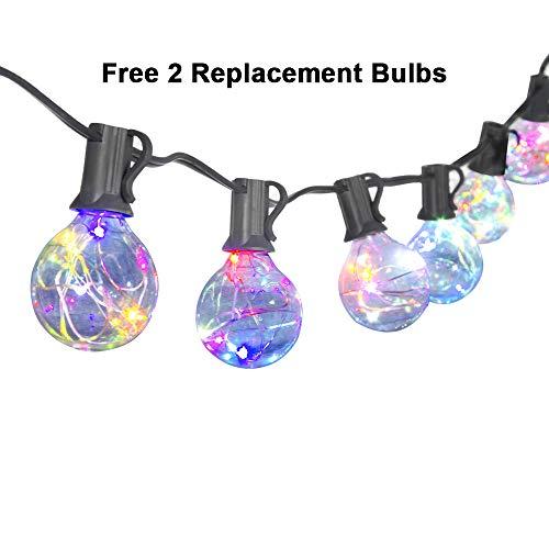 Canagrow Led String Lights 25ft G40 Globe String Lights