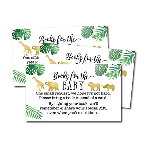 Christmas Gender Reveal Theme.25 Safari Books For Baby Request Insert Card For Boy Or Girl