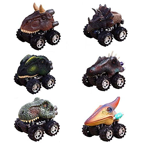 Christmas Gifts Toys for 2-9 Year Old Boys, GZCY Pull Back Dinosour ...