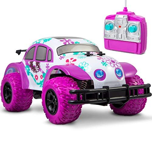 Pixie Cruiser Pink And Purple RC Remote Control Car Toy
