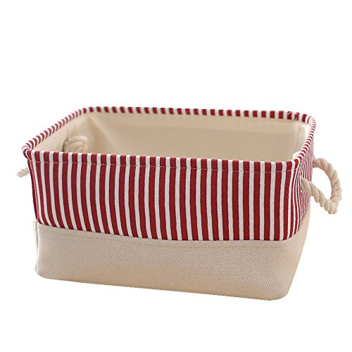 Decorative Fabric Baskets for Shelves Organizing Canvas Baskets for Gifts Empty