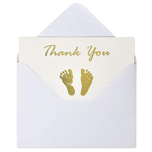 Gift Boutique 4 6 Inches 50 Count Baby Shower Thank You Cards And