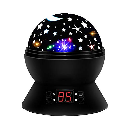 Christmas New Gift For 2 10 Year Old Girls Boys DIMI Multicolor Projector Star Night Lights Kids Fun Party Favor Popular Toys
