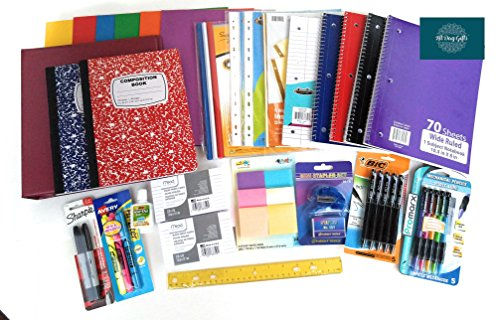 Over 55 Count School Supply Bundle by All Day Gifts, for