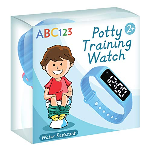 ABC123 Potty Training Watch – Baby Reminder Water Resistant