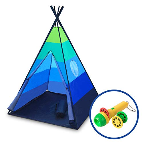 cheap for discount e9dfb a0235 Teepee Tent for Kids – Happy Hut Kids Play Tent for Boys or ...