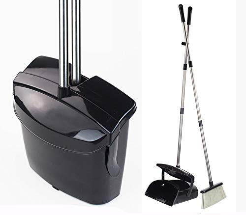 Broom And Dustpan Set Commercial Long Handle Sweep Set And