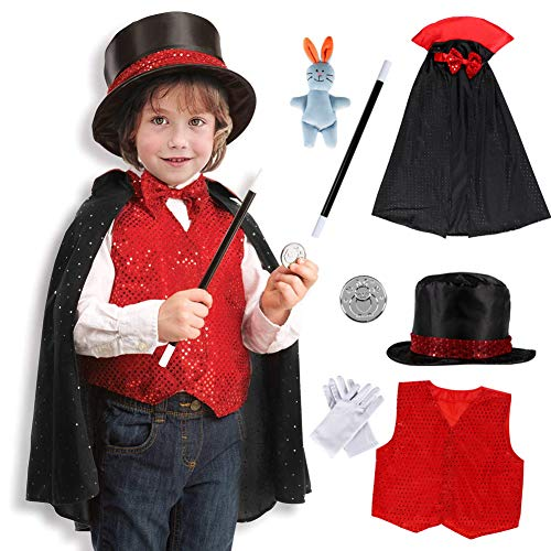 Dissytoys Magician Costume Kids Role Play Costume Magician