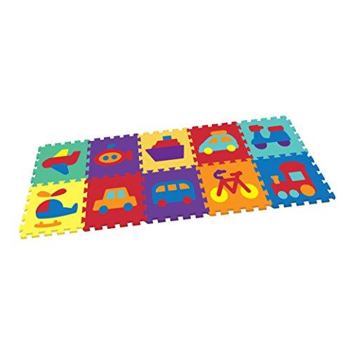 Vehicle Rubber Eva Foam Puzzle Play Mat