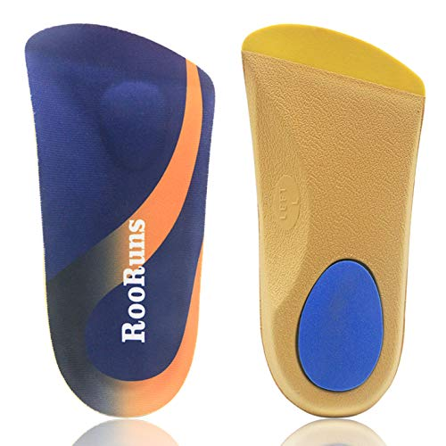 Ultra Foot /& Arch Support Insoles Flat Feet! 3//4 Orthotics PlantarFascilitis