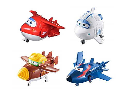Super Wings-Transforming Véhicule série 1 Grand Albert Plane bot 5