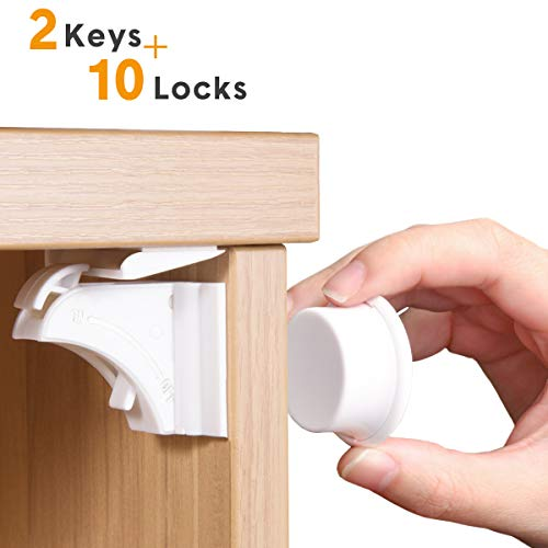 Baby Proofing Child Safety Cabinet Locks by NANAPLUMS ...