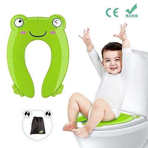 Foldable Non-Slip Potty Training Toilet Portable Potty Seat For Toddler Travel