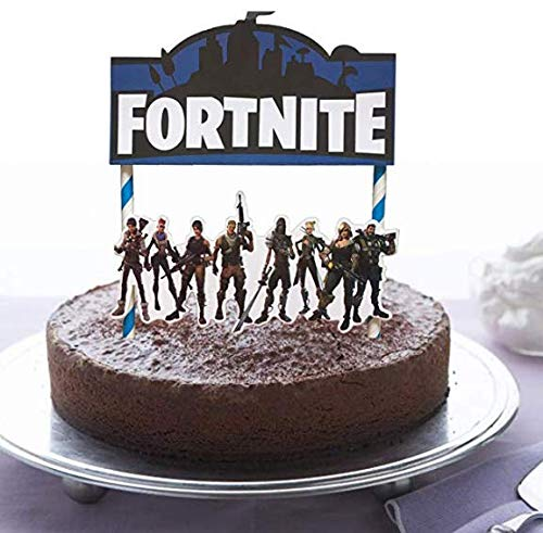 Brilliant Video Game Cake Topper 7 Inch Birthday Cake Topper And Video Game Funny Birthday Cards Online Inifofree Goldxyz