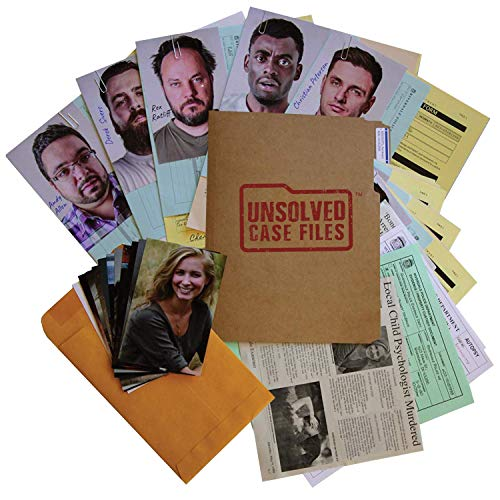UNSOLVED CASE FILES: Cold Case Murder Mystery Game: Who