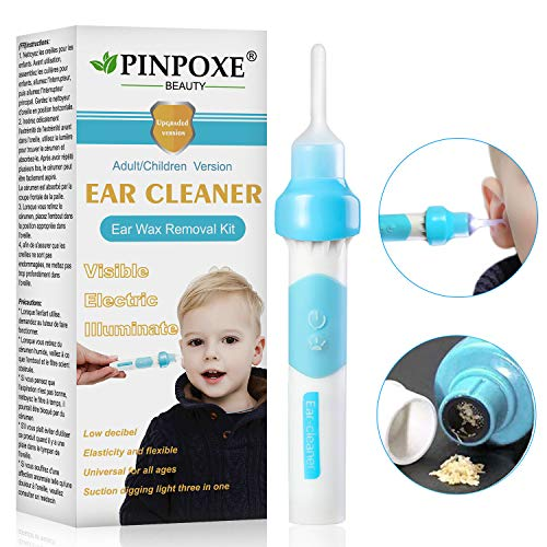Ear Wax Removal Kit, Ear Cleaner, Portable Automatic