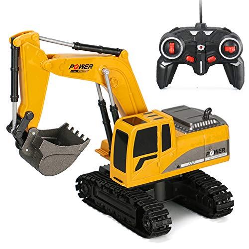 6CH Remote Control Excavator for Boys Remote Control Truck