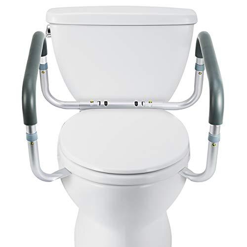 Brilliant Oasisspace Medical Toilet Safety Frame Adjustable Compact Inzonedesignstudio Interior Chair Design Inzonedesignstudiocom