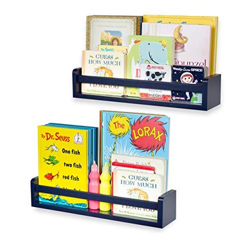 Marvelous Brightmaison Childrens Wall Shelves 2 Shelf Set Wood Download Free Architecture Designs Photstoregrimeyleaguecom