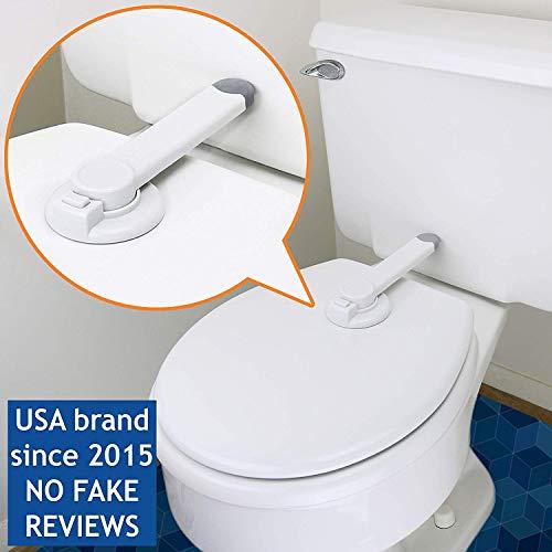 Peachy Baby Toilet Lock By Wappa Baby Ideal Baby Proof Toilet Lid Inzonedesignstudio Interior Chair Design Inzonedesignstudiocom