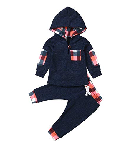 Toddler Infant Baby Boys Dinosaur Long Sleeve Hoodie Tops Sweatsuit Pants Outfit