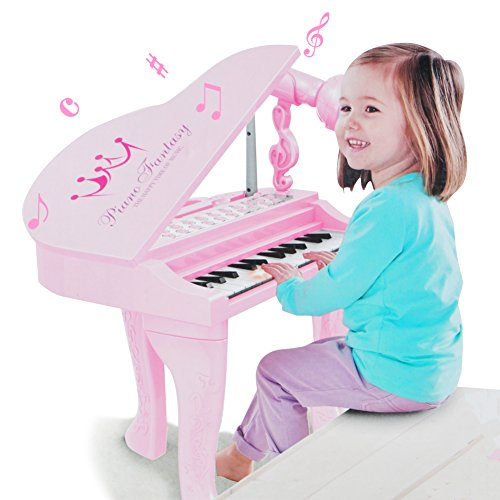 Kids Electronic Piano Muscial Toy – Happytime Multi Function 25 Keys