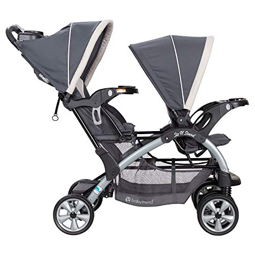 Baby Trend Sit N Stand Easy Fold Twin Double Infant Toddler