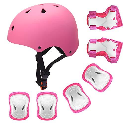 Baby Kids Teens Roller Skating Helmet Knee Elbow Wrist Pad Protective Gear Sets