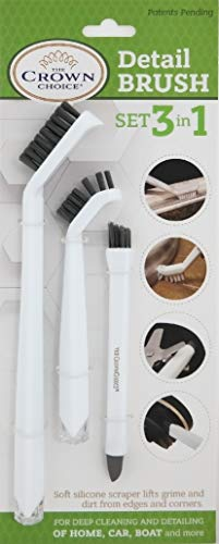 3-in-1 Grout Cleaner Brush to Deep Clean Tile Lines | Small ...