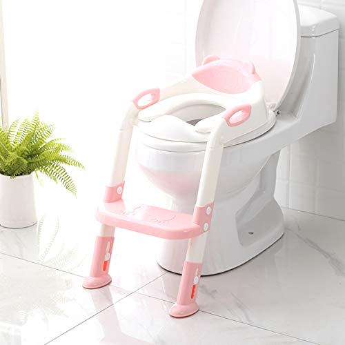 Excellent Potty Training Seat With Step Stool Ladder Skyroku Potty Theyellowbook Wood Chair Design Ideas Theyellowbookinfo