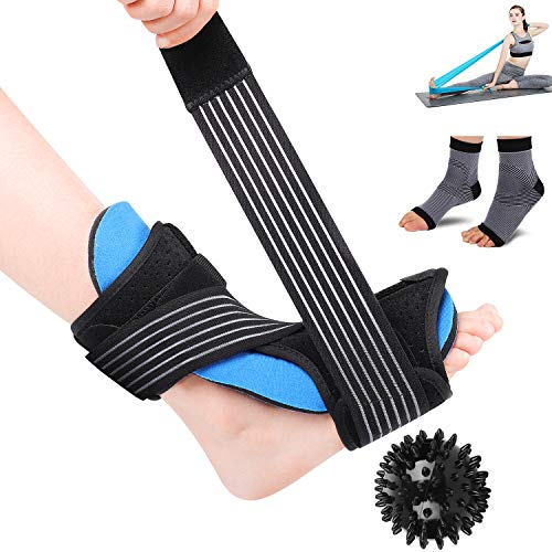 26ac3e81ff2ca LBLESSY Plantar Fasciitis Night Splint Foot Drop Orthotic Brace ...