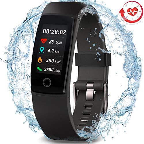 MorePro Waterproof Health Tracker, Fitness Tracker Color Screen