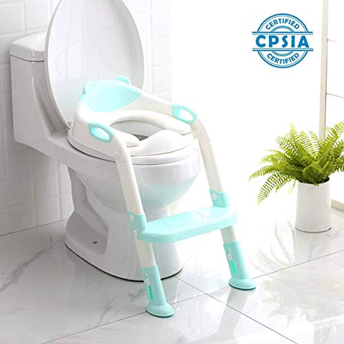 Strange 711Tek Potty Training Seat Toddler Toilet Seat With Step Creativecarmelina Interior Chair Design Creativecarmelinacom