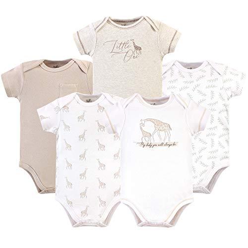 Care Baby Unisex Bodysuit Shortsleeve Pack of 5 Organic Cotton
