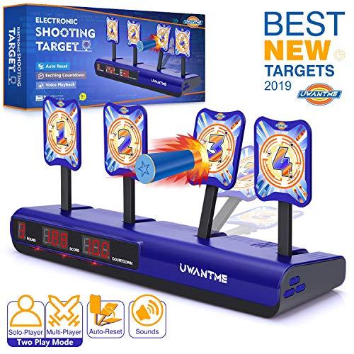 Electric Scoring Auto Reset Shooting Digital Target for Nerf Gun Toy Kids