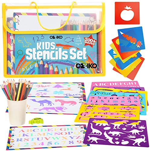 Drawing Stencils For Kids Arts And Crafts Kit For Kids Ages