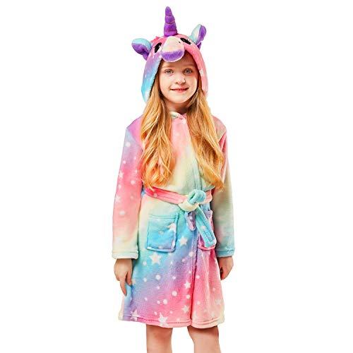 Unisex Hooded Gift for Girl and Boys Soft Girl Bathrobe Hoodie