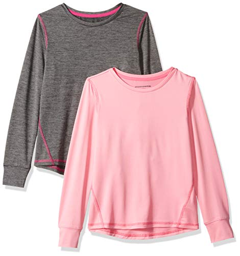 Essentials Girls 2-Pack Long-Sleeve Active Tee